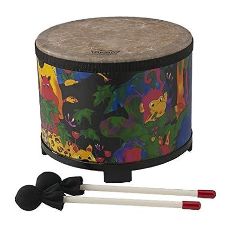Amazon.com  Remo KD-5080-01 Kids Percussion Floor Tom Drum - Fabric Rain  Forest b12243616