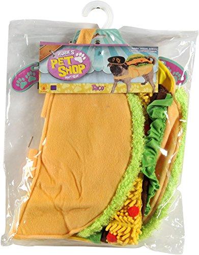 Rubie's Taco Pet Costume, Small - Pet Food Dog Costume