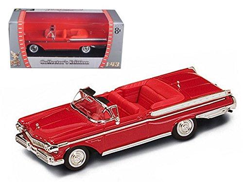 (Road Signature 94253r 1957 Mercury Turnpike Cruiser Red 1-43 Diecast Car Model)