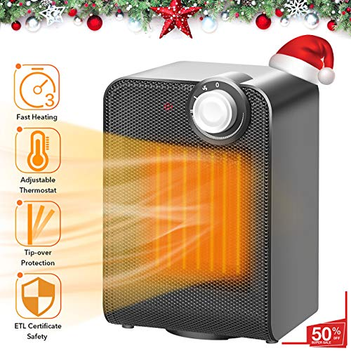 TRUSTECH Electric Space, Portable Ceramic Heater with 1500W