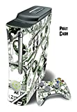 xbox 360 console case white - Mightyskins Protective Skin Decal Wrap Cover for Xbox 360 Console + two Xbox 360 Controllers Sticker - Phat Cash