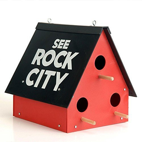 Rock City Gardens See Rock City Birdhouse by Rock City Gardens by Rock City Gardens