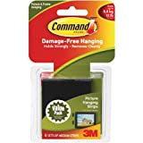 Command Medium Picture Hanging Strips-Black 6 Sets/Pkg