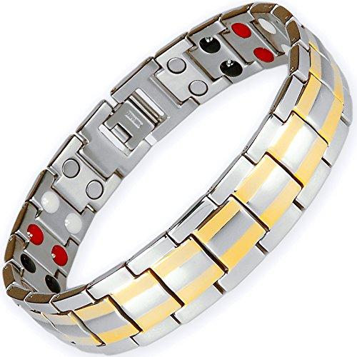ONE ION Silver Titanium Bracelet