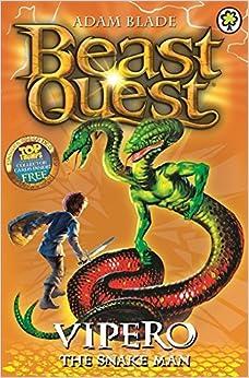 Book Beast Quest: 10: Vipero the Snake Man by Adam Blade (4-Jun-2015)