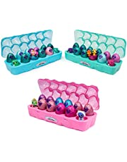 HATCHIMALS 6047215 CollEGGtibles, Season 6, Jewellery Box Royal Dozen 12-pack Egg Carton with 2 Exclusive HATCHIMALS, Multicolour
