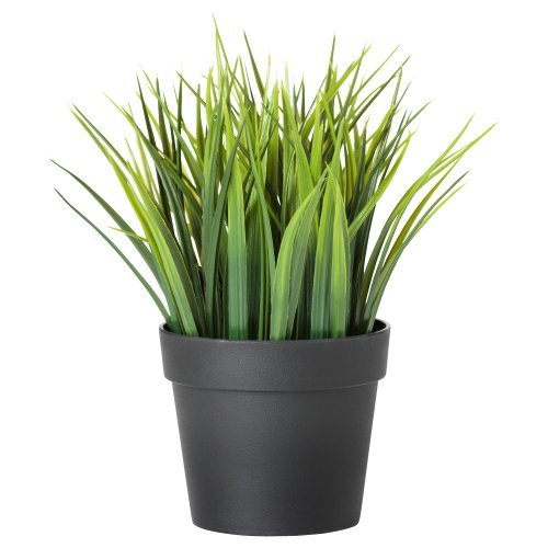 Ikea Artificial Potted Plant, Wheat Grass, 7.75 Inch