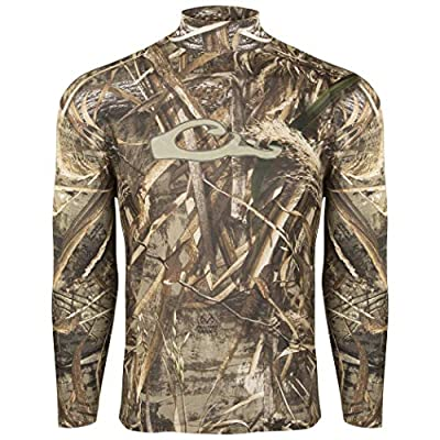 Drake Waterfowl Men's Performance Long-Sleeve Crew Tee