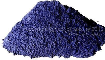 Indigo Dye. Natural Extracto de Indigo para usar en polvo fermentación fermentación. indigofera Tinctoria. Perfecto para Eco Impresiones Y Gris. Tela ...