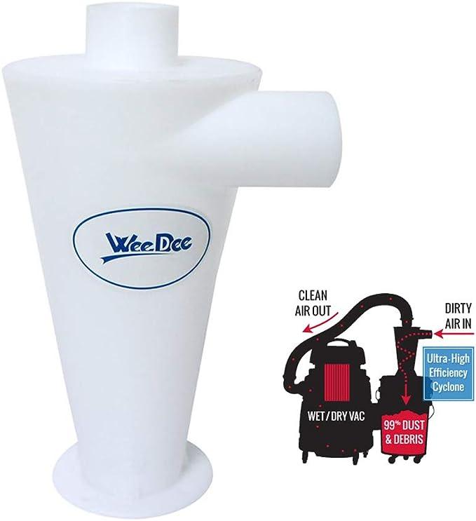 Separador Ciclónico Filtro Ciclón Recolección de Polvo para Aspirador Dust Collector: Amazon.es: Hogar