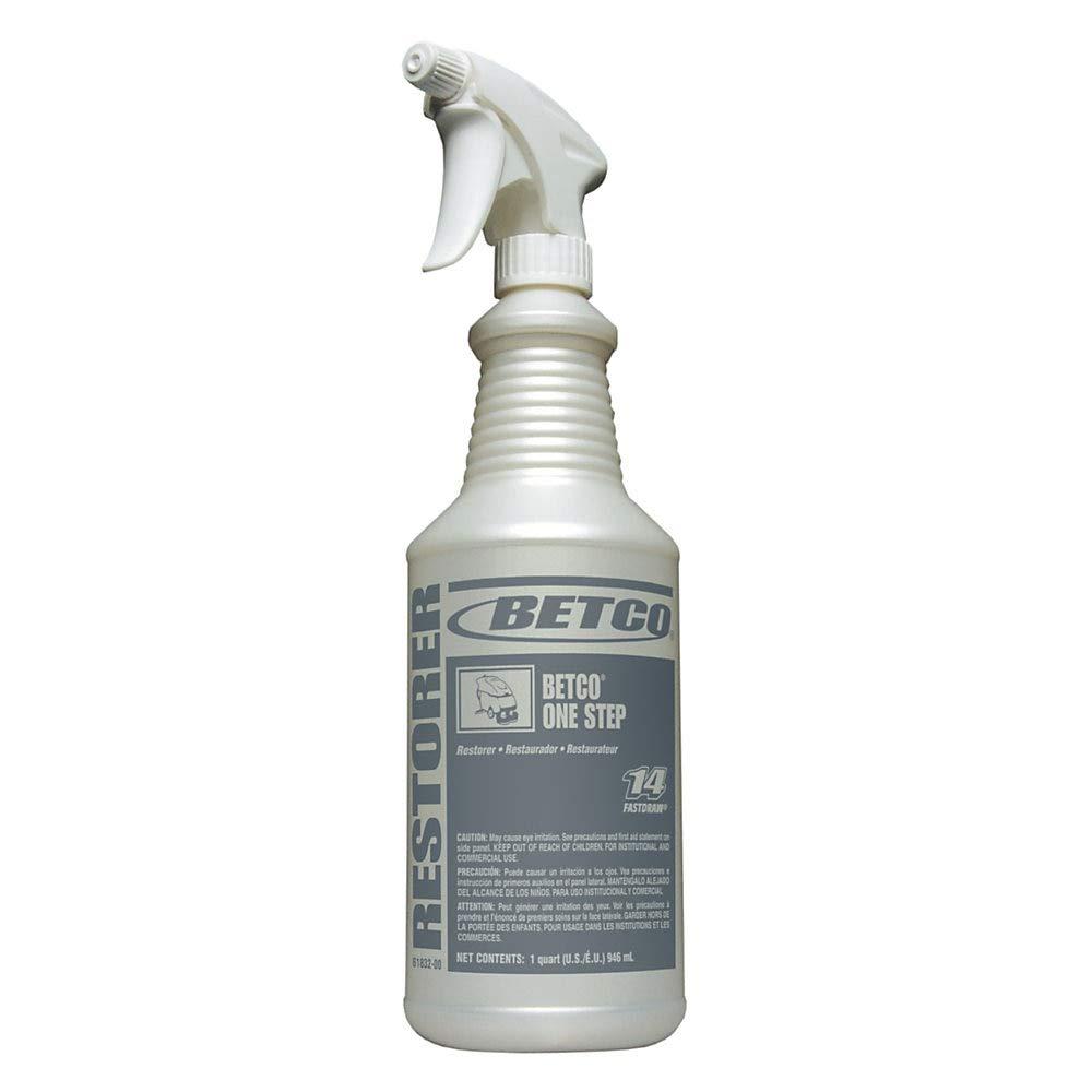Betco One Step Spray Bottles, 32 Oz, Pearlized, Case of 12 by Betco