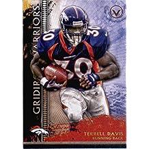 2015 Topps Valor Gridiron Warriors #GW-TD Terrell Davis Denver Broncos Football Card