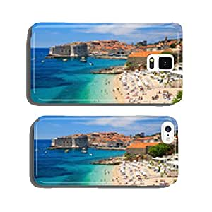Old town and the beach, Dubrovnik Croatia cell phone cover case Samsung S5