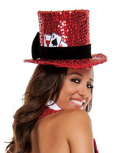 Texas Hold Her Sequin Top Hat