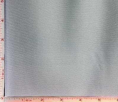 Grey 100 Denier Interlock Fabric 2 Way Stretch Polyester 8 Oz 58-60