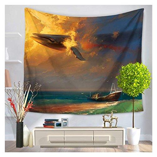 Series Blanket Tapestry (WSHINE Tapestries series of oceanic sharks hanging beach blanket,150130cm(59