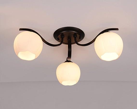 Lampade Da Soffitto A Led Moderne : Dfhhg lampade da soffitto soggiorno arrotondati stile americano
