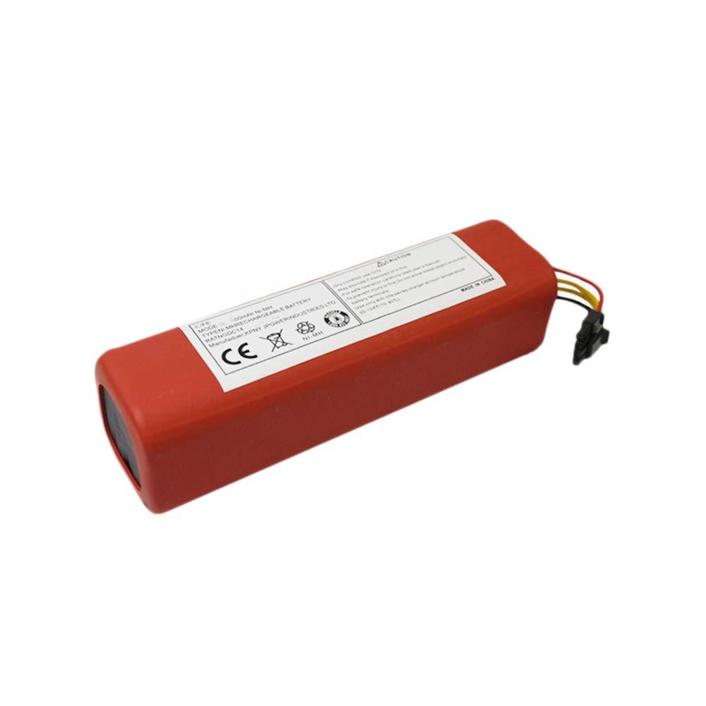 Staubsauger Batterie, Teile Li-Ion Zelle für Xiaomi Roboter Robotik Reiniger 14,8 V 5200 mah Zantec
