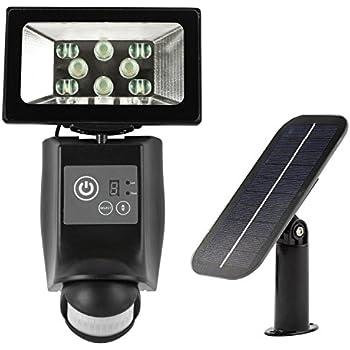 1500 LUMEN + CREE LED + 135° WIDE BEAM + DIGITAL SETTING + Super Easy Installation + 3-Axis Adjustable Solar Lamp & Sensor + Lithium Battery // ROBUST Solar Motion Light