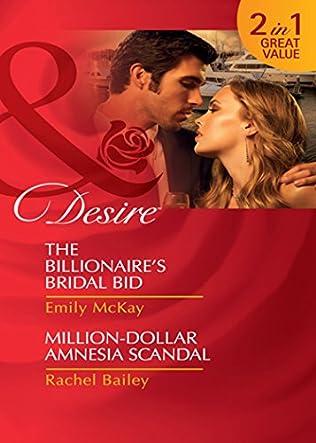 book cover of The Billionaire\'s Bridal Bid / Million-Dollar Amnesia Scandal