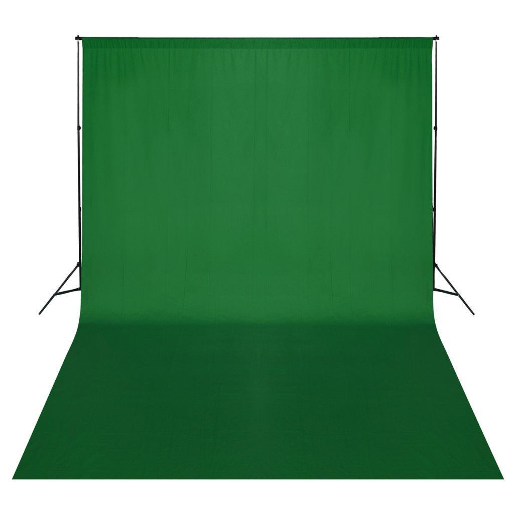 緑の背景サポートシステム500 x 300 cm   B008KKBI3A