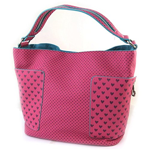 2631f7c8bc7 Designer bag 'Agatha Ruiz De La Prada'fuschia - little hearts. - Buy ...