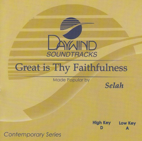 Great Is Thy Faithfulness [Accompaniment/Performance Track] by Daywind