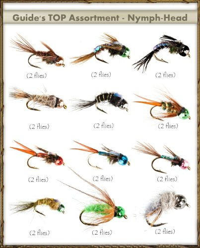 Next Generation Flies - NYMPH-HEAD Assortment (24 ()