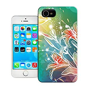 tostore Colorful dragonfly pattern case battery cover for iphone 4/4s
