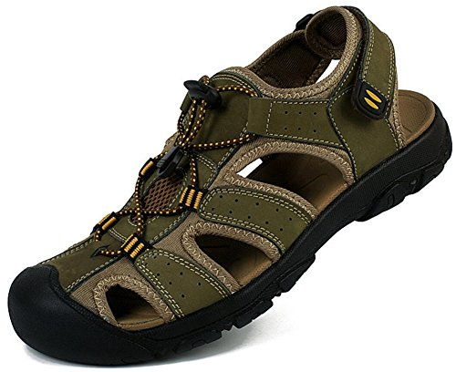 Mens Athletic Sandal Outdoor Sport Sandal Green lNeJDKhBZ