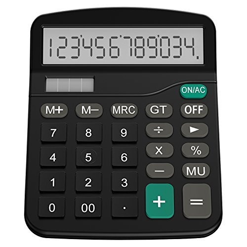 Calculator, Helect Standard Function Desktop Calculator - H1001