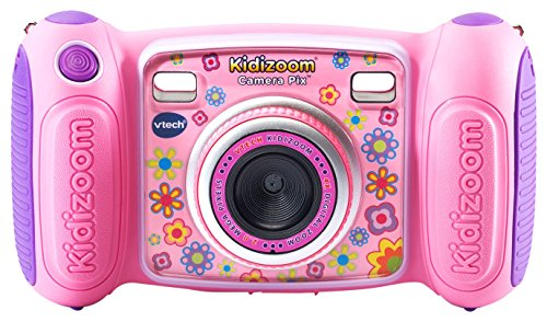 VTech Kidizoom Camera Pix, Pink (Frustration Free - Kid Camera Tough Digital