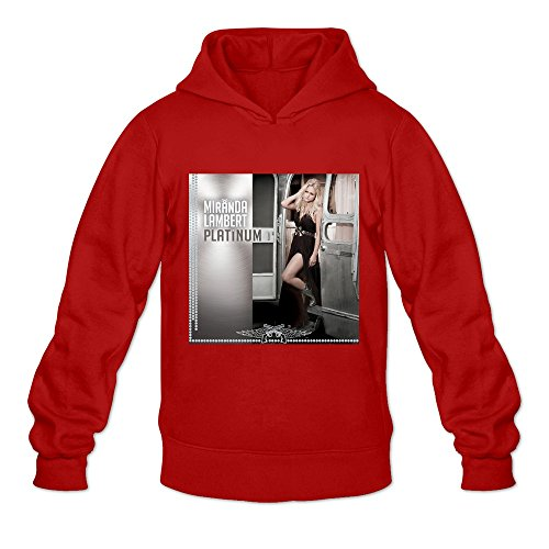 Platinum VAVD Men's 100% Cotton Hoodies Red Size M (The Album Jewels Christmas Run)