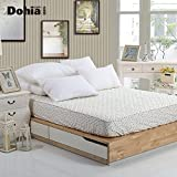 cotton fold enclose protection single or double mattress 1.5 anti-skidding mattress 1.2 1.8m-A Queen1