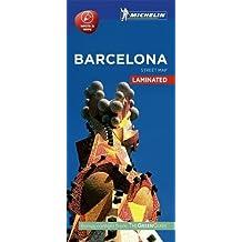Michelin Barcelona City Map - Laminated