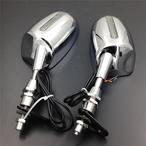 Motorcycle LED rear view mirror fit for Honda CBR 600 F1 F2 F3 CBR 900 929 954 RR - Mirror F1