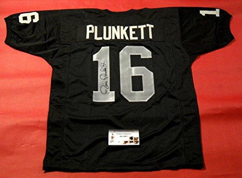 Jim Plunkett Autographed Jersey - Gtsm - GTSM Certified - Autographed NFL - Jim Items
