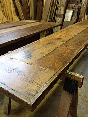 Amazon Com Home Bar Top Reclaimed Barn Wood Custom Bar Tops Handmade