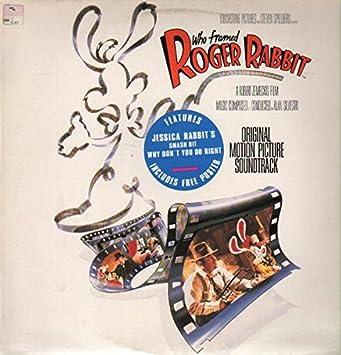 who framed roger rabbit 1988 soundtrack vinyl record vinyl lp - Who Framed Roger Rabbit Soundtrack