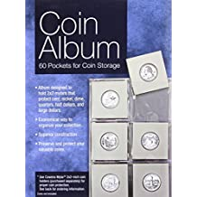 Coin Album: 60 Pockets for Coin Storage