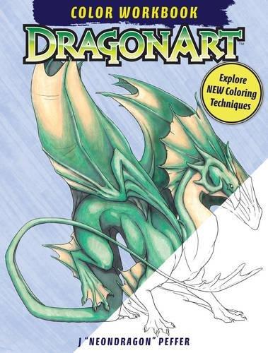 DragonArt Color Workbook Coloring Techniques product image