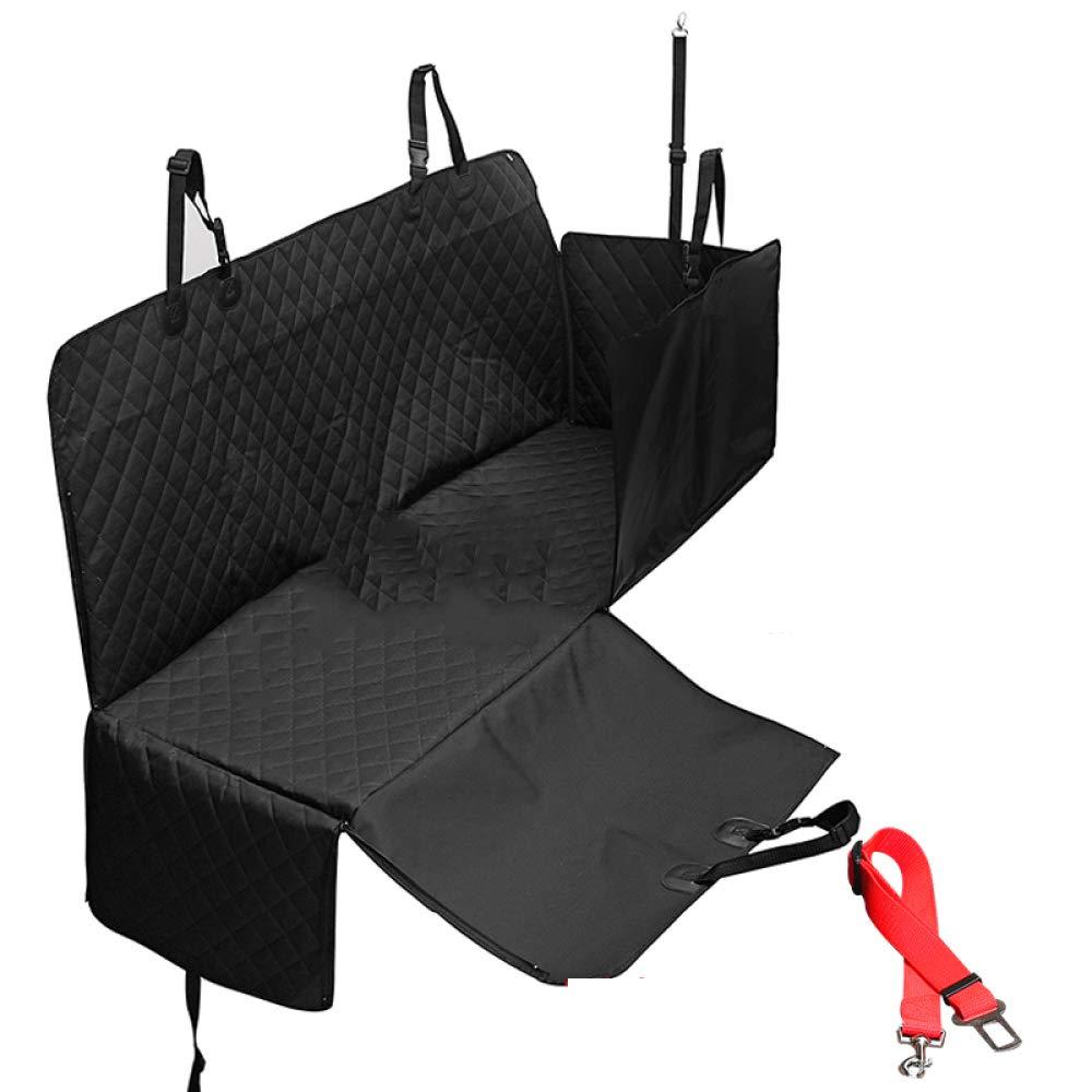 QWERTLH Dog Car Seat Covers Rear Car Seat Waterproof Nonslip Dog Hammock Pet Seat Predector For Cars