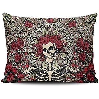 Amazon Com Keibike Pillow Case New Grateful Dead