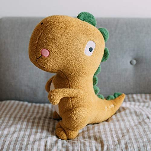 jaune 110CM 43.3IN Peluches Dinosaur Ragdoll en Aller au lit Oreiller Tyrannosaure Rex Poupée Grand Garçon Anniversaire Enfant Cadeau (Couleur   Orange, Taille   70CM 27.5IN)