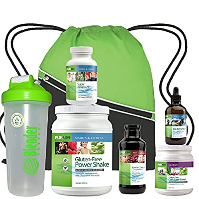 Purium 10 Day Transformation Cleanse - Apple Berry Flavor