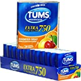 Tums Extra Strength 750 Assorted Fruit Antacid 3-Pack (36 Count per Pack)