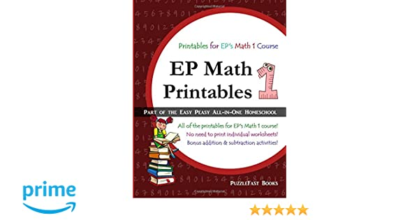 Workbook christmas grammar worksheets : EP Math 1 Printables: Part of the Easy Peasy All-in-One Homeschool ...