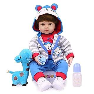 Kaydora Reborn Baby Doll,18 inch Weighted Baby, Lifelike Reborn Toddler Doll Boy