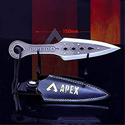 Games APEX Legends Wraith Dagger Knife 1/6 Metal Model Action Figure Arts Toys Collection Keychain: Toys & Games