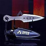 APEX Legends 1/6 Metal Wraith Kunai Knife Heirloom